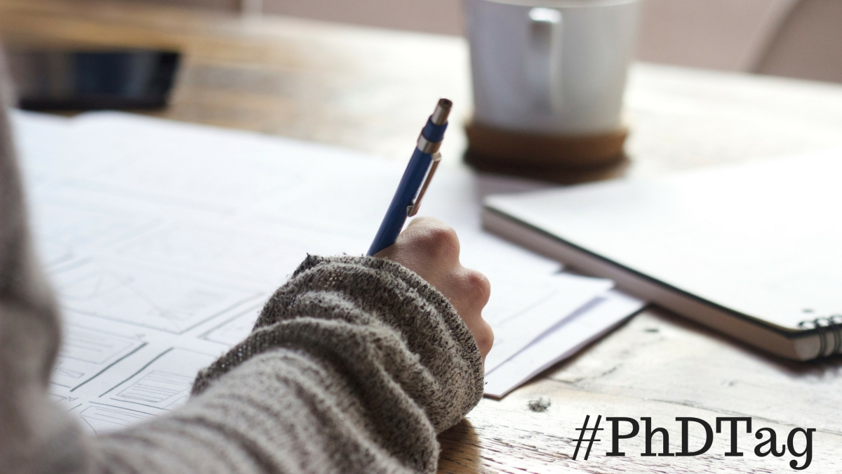 Everything You Wanted (and Didn't Want) to Know about Doing a PhD: #PhDTag